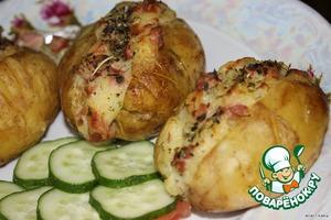 Рецепт Запеченный картофель по-американски