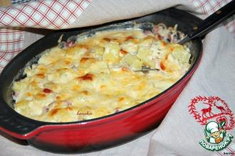 Рецепт: Картофельная запеканка по-швейцарски