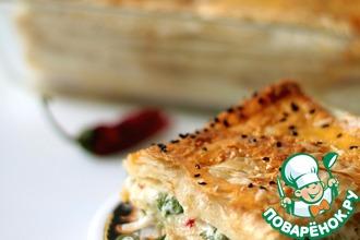 Рецепт: Греческий пирог с брынзой