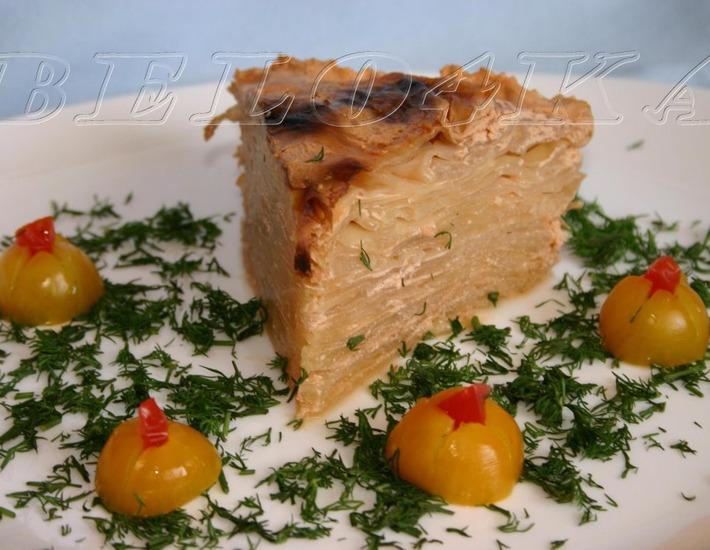 Рецепт: Капустный пирог Проще простого