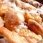 Курица в молочно-чесночном соусе Шкмерули
