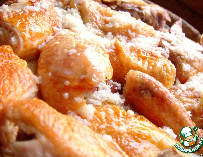 Рецепт: Курица в молочно-чесночном соусе Шкмерули