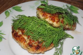 Рецепт: Куриные котлеты с цветной капустой