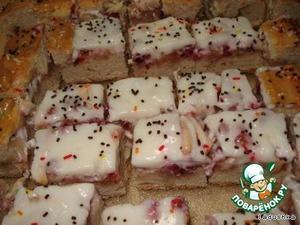 Пирог с яблоками и брусникой – кулинарный рецепт