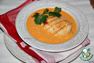 Рецепт: Куриные грудки в кремовом овощном соусе