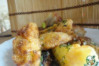 Рецепт: Картофель по-селянски
