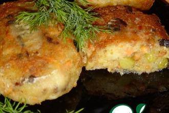 Рецепт: Вегетарианский бифштекс