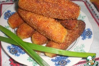 Рецепт: Картофельно-сырные крокеты