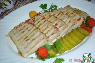Рецепт: Свинина, фаршированная мясом