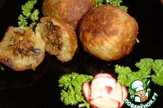 Рецепт: Колдуны с грибами