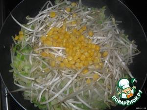 Консервированную кукурузу (можно использовать замороженную).