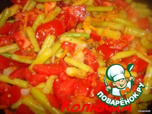 and all the tomatoes sprinkle with salt and pepper and add all your spices fragrant
