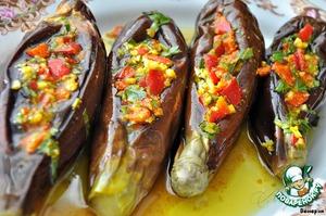 Рецепт Острые, пряные маринованные баклажаны по-египетски