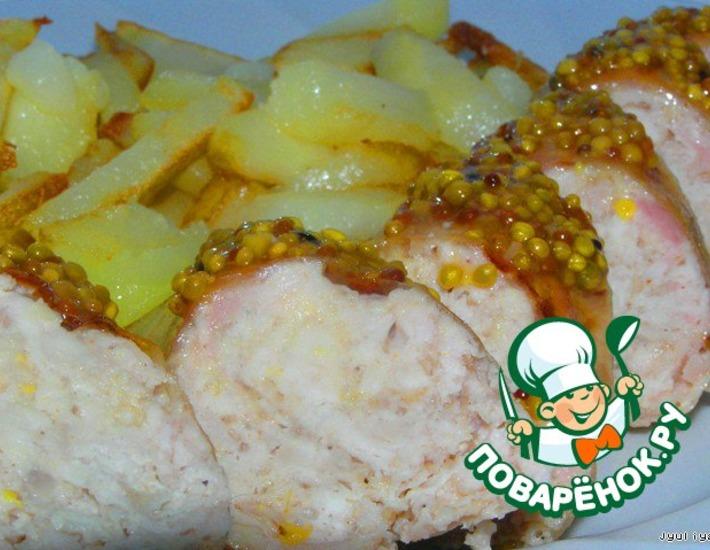 Рецепт: Колбаски по-домашнему