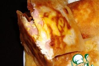 Рецепт: Вкуснейший завтрак или яичница в тесте фило