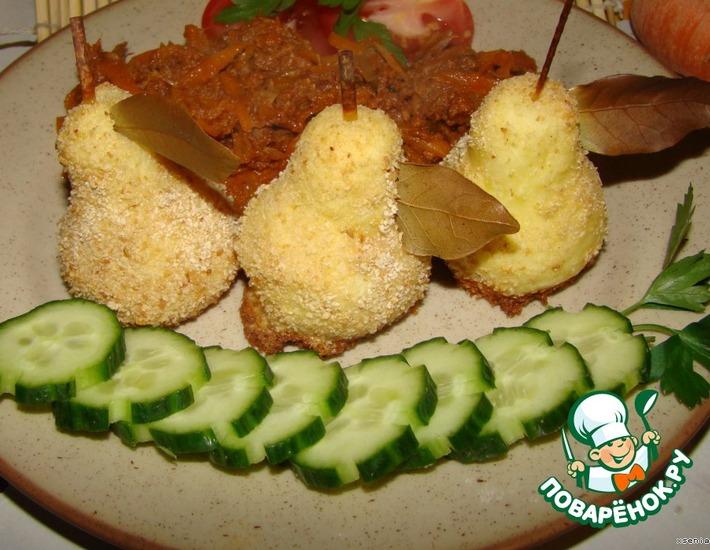 Рецепт: Гарнир из картофеля Груши
