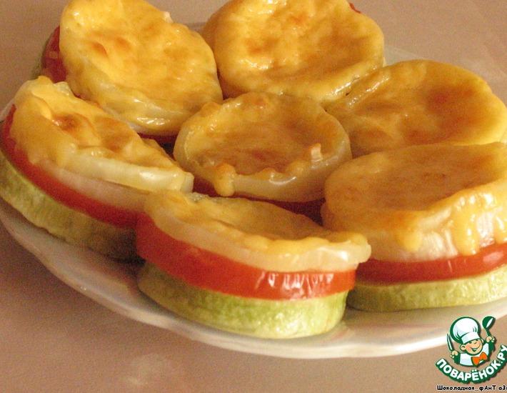 Рецепт: Овощные пирожки