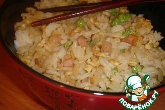 Рецепт: Жареный рис по-китайски