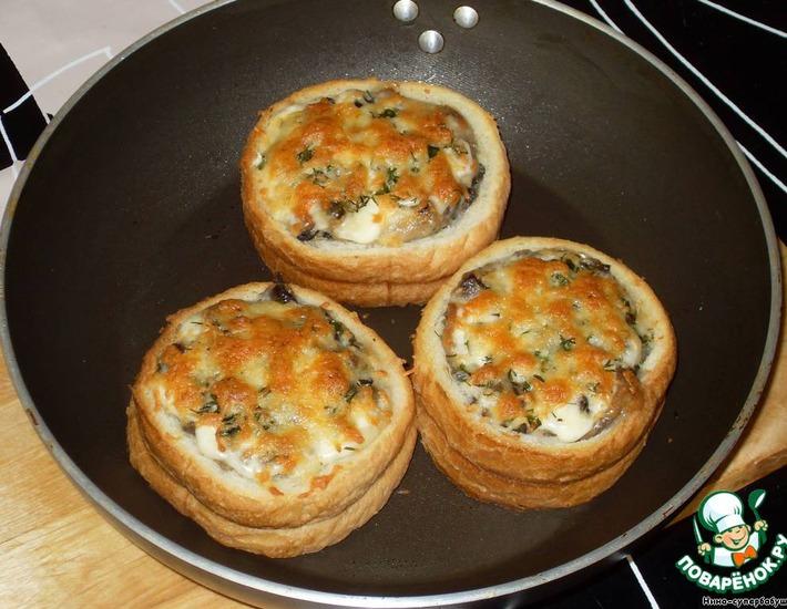 Рецепт: Жюльен с грибами Срочно в номер!