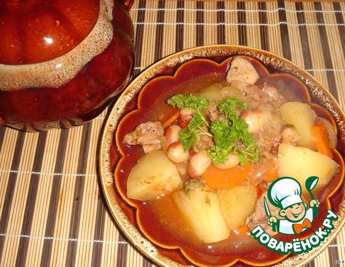 Рецепт: Чанахи на украинский манер