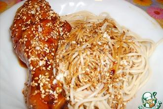 Рецепт: Курица по-корейски
