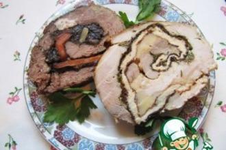 Рецепт: Быстрые рецепты мясных рулетов