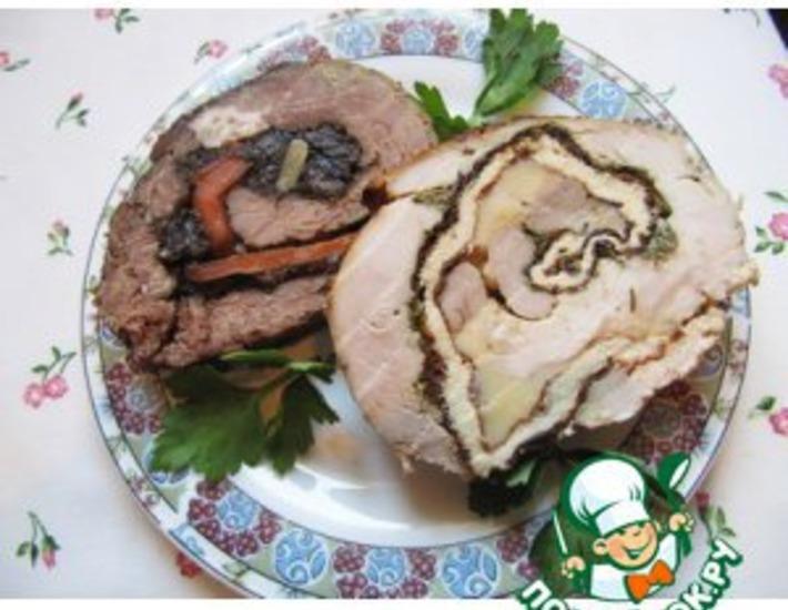 кулинарные рецепты мясных рулетов