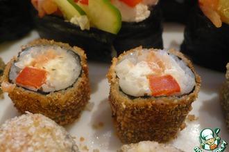 Рецепт: Маки, суши и ролл Мозаика
