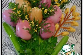 Рецепт: Закуска Весенний букет