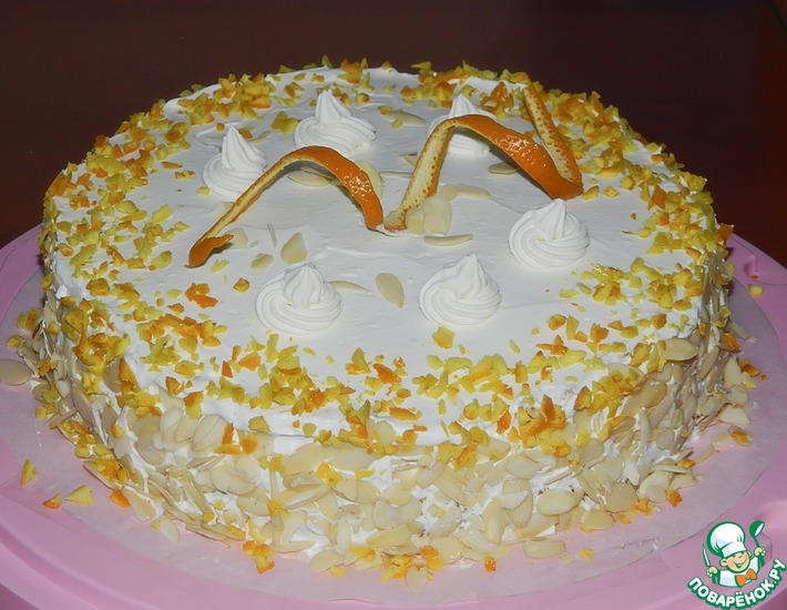 Рецепт: Американский торт