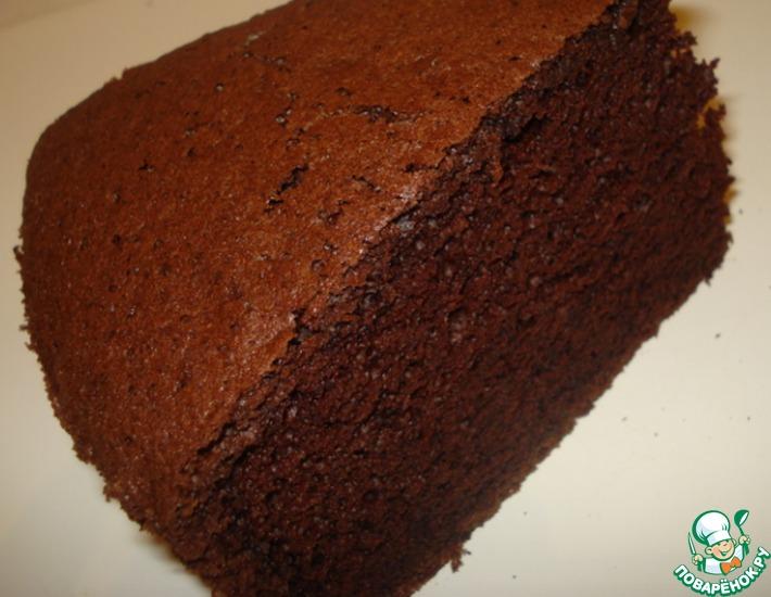 Рецепт и приготовление шоколадного бисквита белковая пища рецепты приготовления блюд