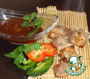 Sauce and marinade for meat,