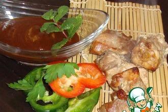 Рецепт: Соус и маринад для мяса Барбекю