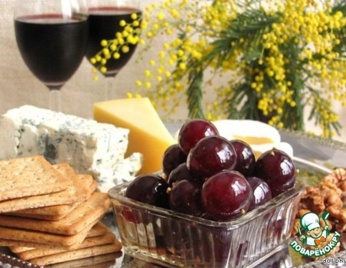 Рецепт: Маринованный виноград