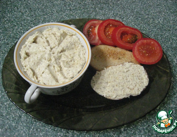 Рецепт: Бутербродная масса