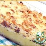 Картофельная запеканка с грибами и брынзой