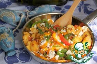 Рецепт: Овощная сковорода по-гречески