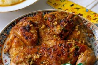 Рецепт: Курица по-аджарски