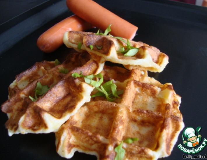 Рецепт: Картофельные вафли