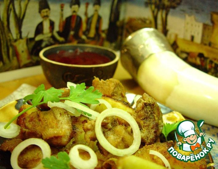 Рецепт: Свинина по-домашнему Оджахури