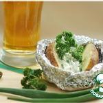 Запечeнный картофель с сырной начинкой Девичьи посиделки