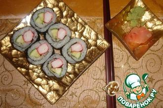 Рецепт: Маки-суши в домашних условиях
