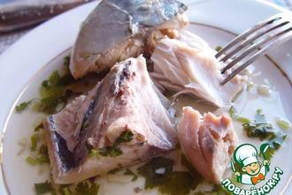 Рецепт: Рыба в соусе Киндзмари