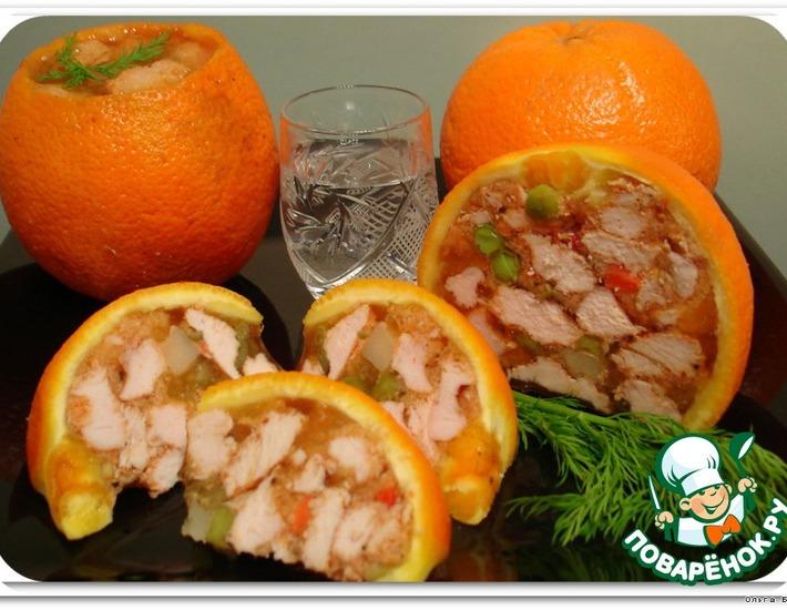 Рецепт: Закуска Оранжевое настроение