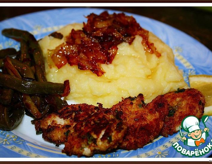 Рецепт: Куриное филе с пармезаном