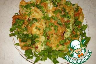 Рецепт: Шницель из молодой капусты