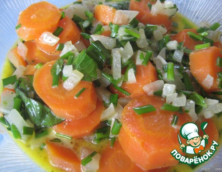Рецепт: Морковь от Жан-Пьера