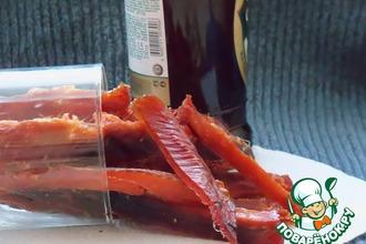 Рецепт: Рыбные палочки