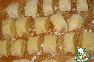 Рецепт: Картофельные клецки с луком