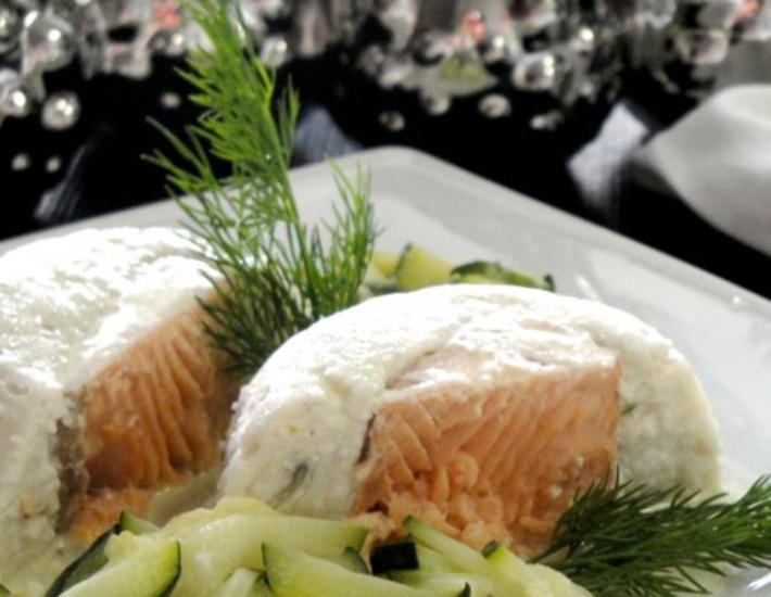 Рецепт: Рыбное тимбале